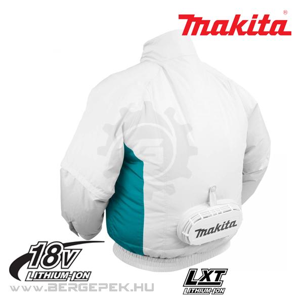 Makita DFJ201Z akkus hűthető kabát 14.4V 18V akku és töltő nélkül